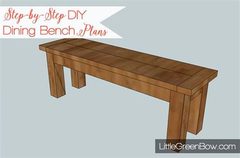 how to build a dining bench 17 best images about dining bench plans on pinterest