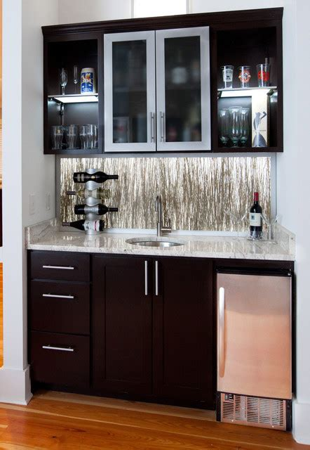 Bar Area For Small Spaces Bar Eclectic Living Room Charleston By Element