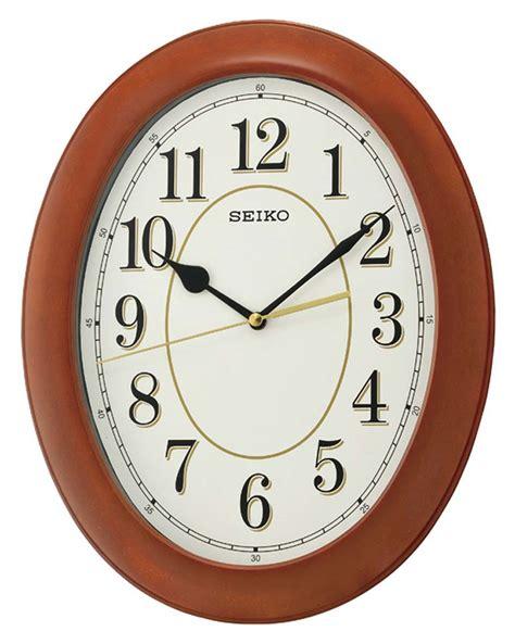 seiko quiet wall clocks seiko qxa664b wall clock quiet clock new ebay