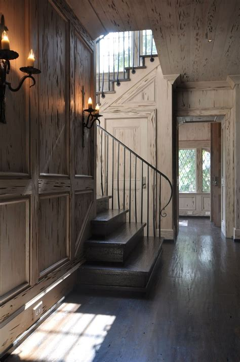 hallway with pecky cypress ceiling cottage entrance foyer 10 images about classic stairs balusters and newels on