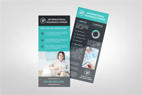 Free Rack Card Template Indesign by Business Rack Card Template On Behance