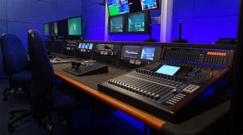 Broadcast Furniture Case Studies Mw Video Systems Mw Radio Studio Desk
