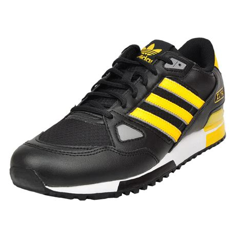 adidas originals zx 750 black yellow s sneakers shoes shoe new 700