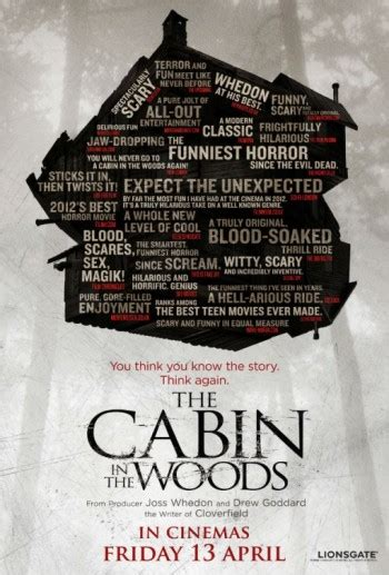 The Cabin In The Woods Review by Carnage S House Of Horror The Cabin In The Woods Review