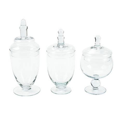 candy buffet jars candy jars set glass apothecary jars