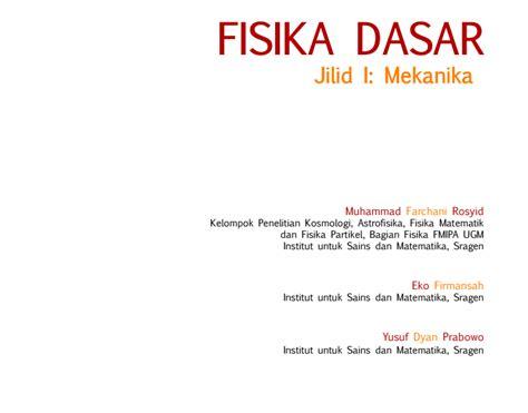 Fisika Dasar Jilid3 Halliday 1 gratis ebook fisika dasar diary pengetahuan
