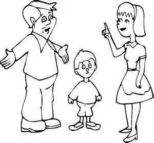 family color extended family coloring pages