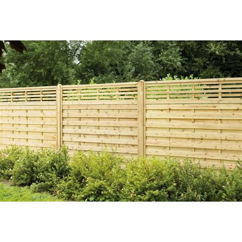 Forest Fencing Trellis Forest Kyoto Fence Panel Pack Of 7 At Homebase Co Uk