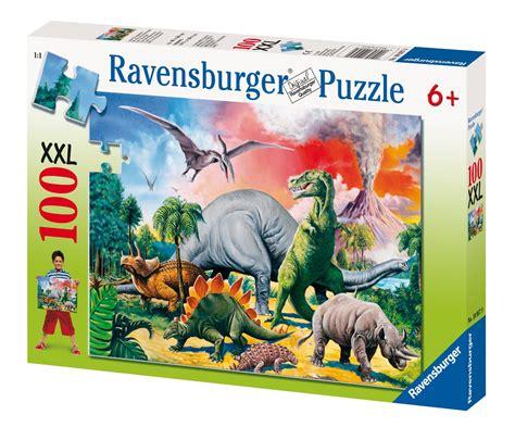 500 Jigsaw Puzzle Dinosaurs unter dinosauriern 100 gro 223 e puzzleteile