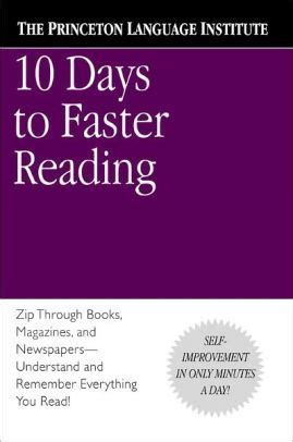 libro 10 days to faster 10 days to faster reading by the princeton language institute abby marks beale paperback