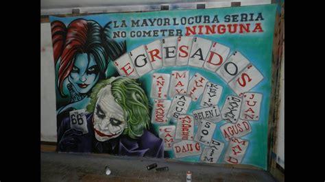 banderas de egresados 2016 hermosa como dibujar al guason how to draw joker graffiti bandera
