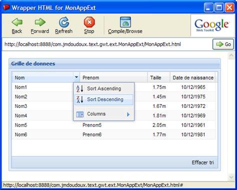 format date gwt d 233 veloppons en java gwt google web toolkit