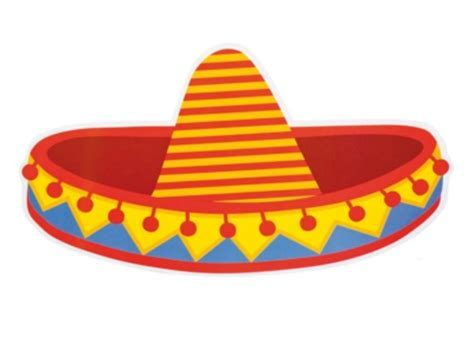 Mexican Fiesta Cutout   Sombrero   Partynutters UK