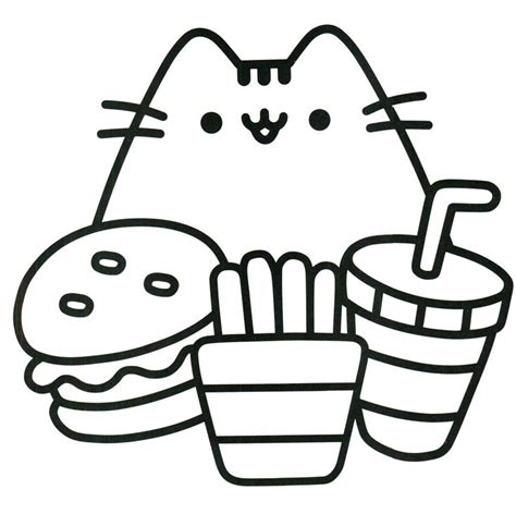 pusheen coloring pages pusheen coloring book coloring pages