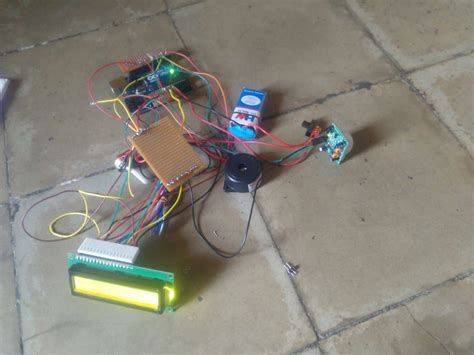 project home security alarm system using arduino