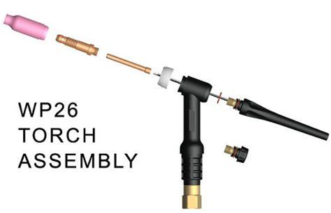 tig torch parts diagram weld tech assemble tig torch