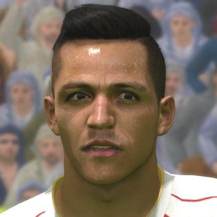 alexis sanchez pes 2017 arsenal england premier league faces pes 2015 pes