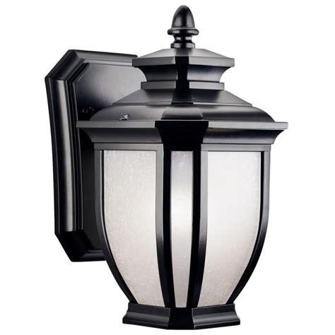 Kichler 9039bk Black Salisbury Collection 1 Light 10 Kichler Outdoor Lighting Catalog
