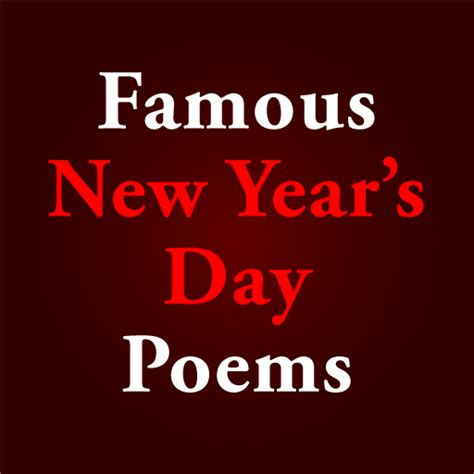 poems for new years day