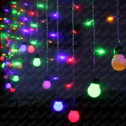 led decorative string lights multi coloured light bulbs roselawnlutheran