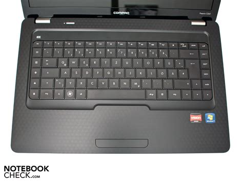 Keyboard Laptop Compaq review hp compaq presario cq62 notebook notebookcheck net reviews