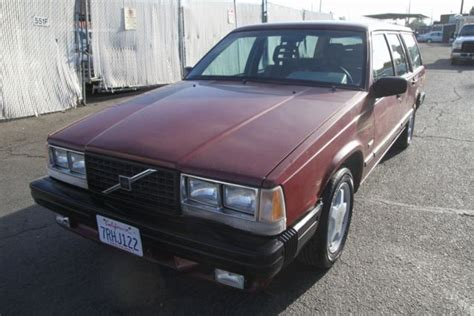 1986 volvo 740 automatic turbo engine 4 cylinder no reserve