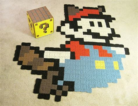 Nintendo Rug by 7x7ft Raccoon Mario Rug Featured In Nintendo Power