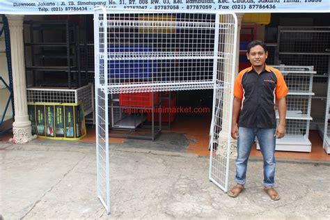 Rak Minimarket Jakarta jual rak freezer minimarket
