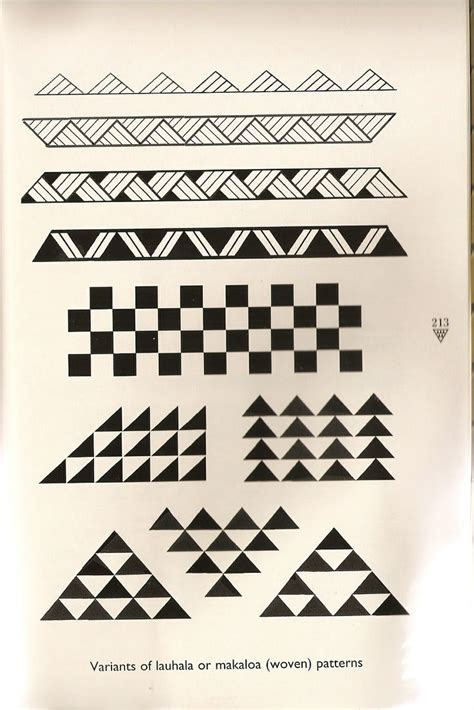 triangle pattern ea hawaiian triangle pattern tattoos yahoo image search