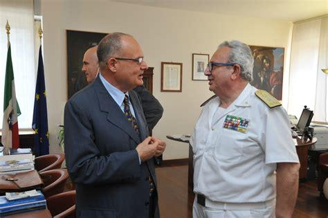 comando generale capitanerie di porto giuseppe marinello visita ufficiale al comando generale