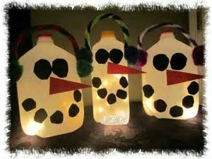milk jug snowman kids crafts pinterest