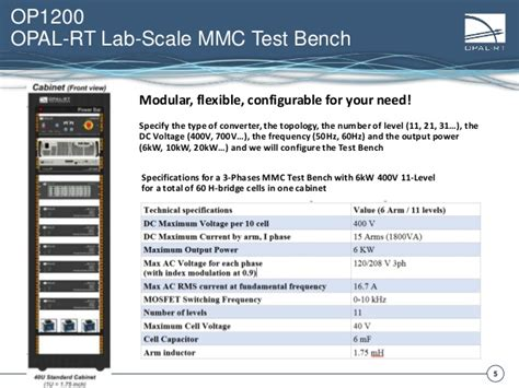 lab test bench lab scale mmc test bench