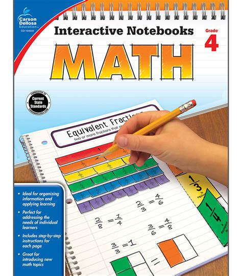 interactive notebooks math resource books interactive