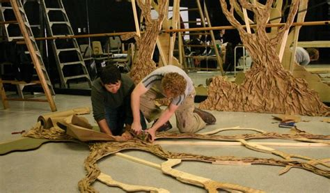lance cardinal creative blog into the woods set design