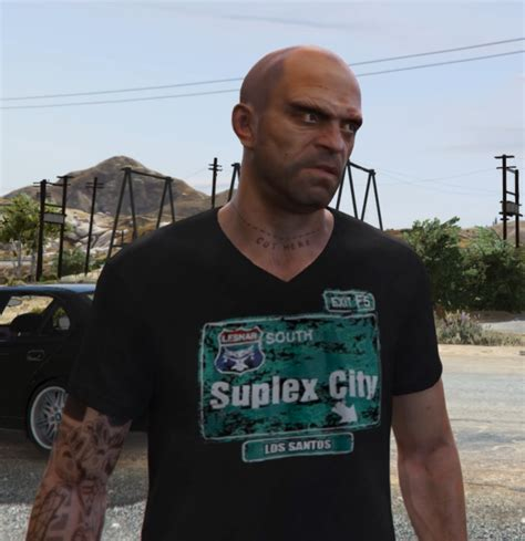 Suplex City brock lesnar quot suplex city los santos quot shirt gta5 mods