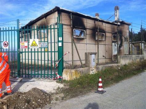 consolato spagnolo palermo incendio distrugge la cabina gas di cupello al freddo