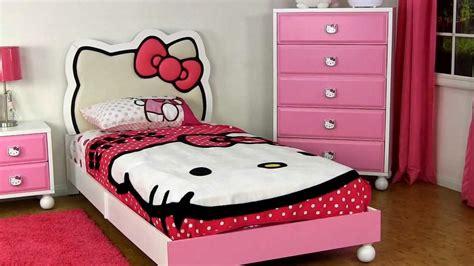 desain kamar gambar hello kitty desain kamar tidur anak perempuan dengan hello kitty