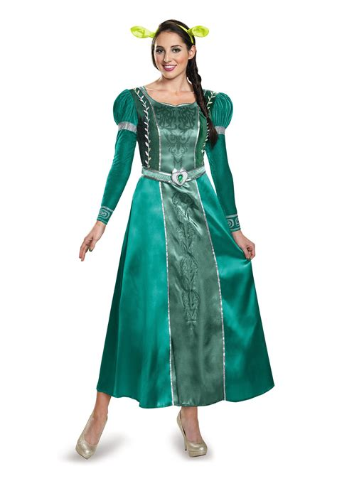 halloween costumes fiona deluxe adult costume