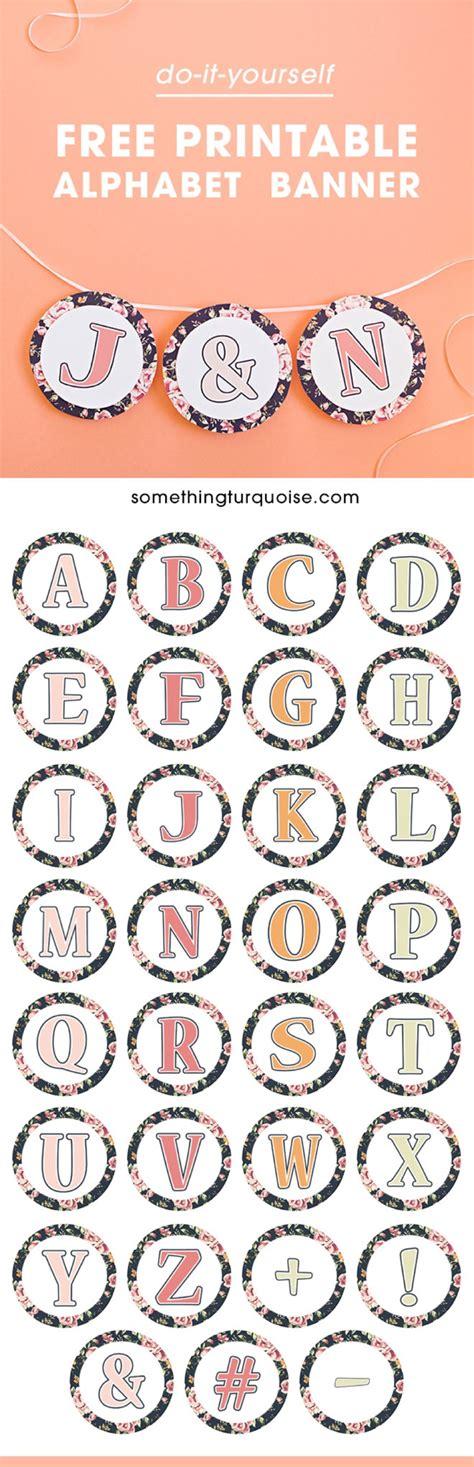 calligraphy ribbon banner labels printables pinterest free printable floral design alphabet and number banner