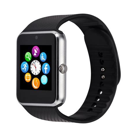 Smartwatch S6 Bluetooth Gsm For Android Ios gt08 bluetooth smartwatch armbanduhr gsm telefon f 252 r