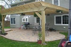 Diy Pergola On Existing Deck by Diy How To Build A Pergola On A Deck Plans Free