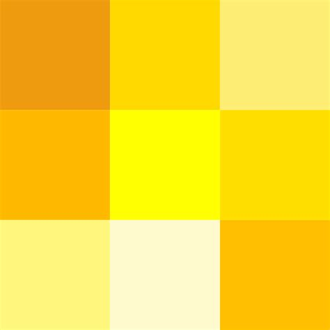 Colors Of Yellow | file color icon yellow svg wikimedia commons