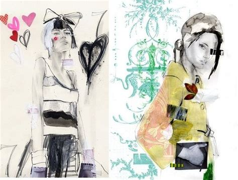 670 best images about fashion illustration on