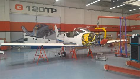 grob 120tp training aircraft ready for british military first images of new raf trainers military aviation review