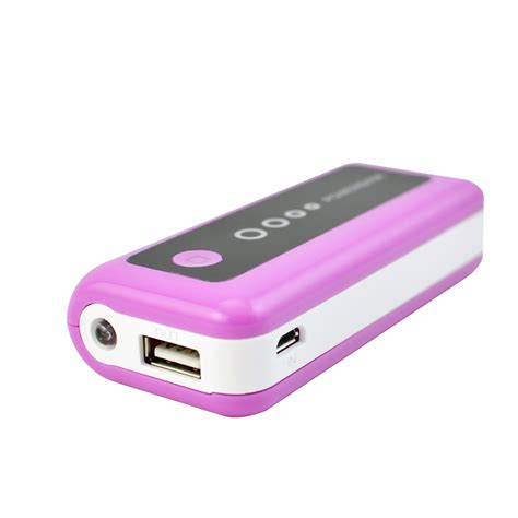 external cellphone battery charger portable power bank external 5600mah mobile usb battery