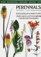 perennials books random house book of perennials volume 2 late perennials
