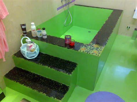 vasca da bagno in cemento foto vasca da bagno di m i v imbiancature e decorazioni
