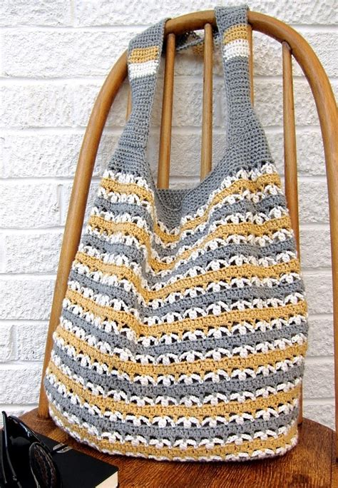 pattern crochet market bag bags purses archives knit and crochet daily