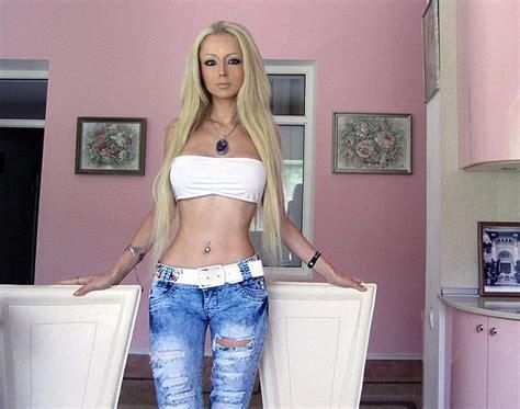 ukraines real life barbies to bring spirituality to human barbie doll valeria lukyanova becomes an internet