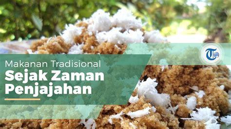 tiwul makanan tradisional  berasal  gunungkidul